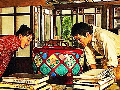 スカーレット 10週55話  喜美子 きみこ 十代田八郎 そよだ