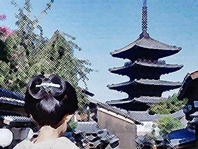 おちょやん ネタバレ5週21話 京都にたどりついた千代のイラスト