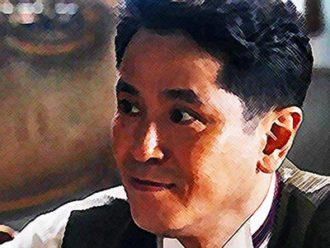 おちょやん ネタバレ5週23話 千代を見守る宮元店長のイラスト