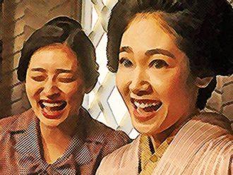 おちょやん ネタバレ5週23話 女優試験に合格した真理と洋子のイラスト