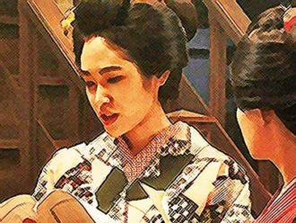 おちょやん ネタバレ6週26話 千代を擁護する洋子のイラスト