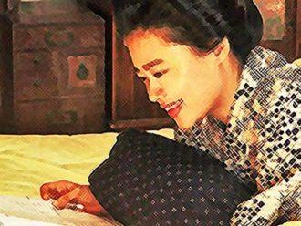 おちょやん ネタバレ6週26話 女優になる喜びをかみしめる千代のイラスト