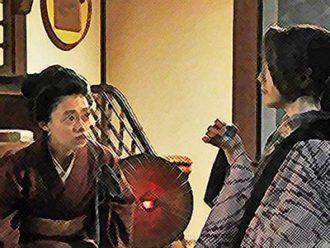 おちょやん ネタバレ6週27話 千鳥に女優になった理由をたずねる千代のイラスト