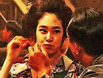 おちょやん ネタバレ5週21話 一番人気の女給・岩崎洋子のイラスト