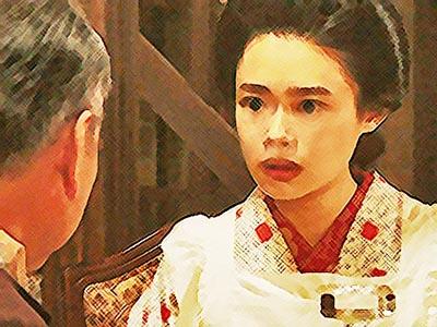 おちょやん ネタバレ5週22話 黒木から映画出演を誘われる千代のイラスト