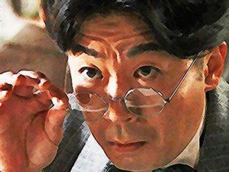 おちょやん ネタバレ5週22話 千代を値踏みする出資者の川島のイラスト