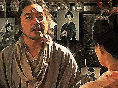 おちょやん ネタバレ8週39話 開き直るテルヲのイラスト