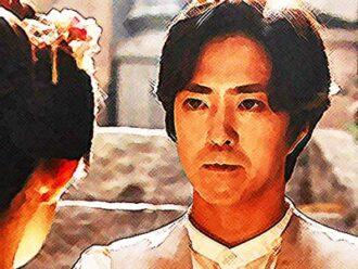 おちょやん ネタバレ8週39話 千代にプロポーズする小暮のイラスト