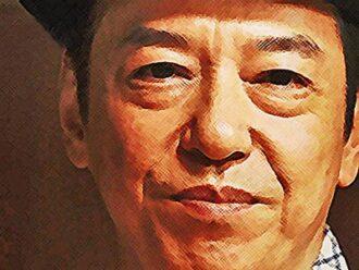 おちょやん ネタバレ9週43話 オーラを放つ喜劇王・須賀廼家万太郎のイラスト