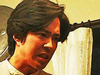おちょやん ネタバレ8週38話 千代を大女優にすると宣言する小暮のイラスト