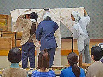 にじいろカルテ ネタバレあらすじ 第7話 結婚式に向けて動き出した村人のイラスト