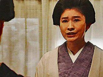おちょやん ネタバレ11週55話 『福富』の菊にお願いするシズのイラスト