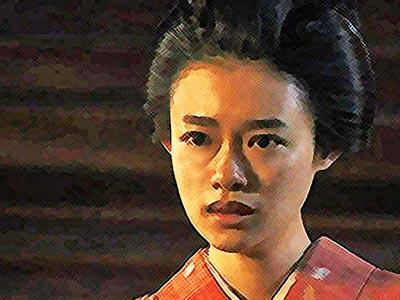 おちょやん ネタバレ12週59話 放火しようとするヨシヲを見据えた千代のイラスト