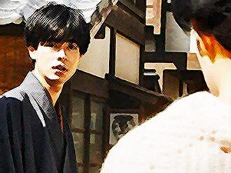 おちょやん ネタバレ13週62話 京都に来た理由を聞いて怒る一平のイラスト