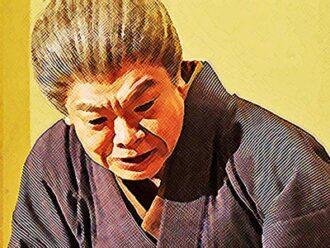 おちょやんネタバレあらすじ11週54話 マットン婆さん役の千之助イラスト