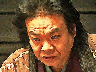 おちょやん ネタバレ14週66話 万太郎に敵対心をみなぎらせる千之助のイラスト