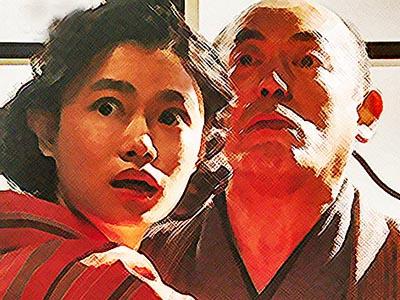 おちょやん ネタバレ14週67話 万太郎の前で絶体絶命の千代のイラスト