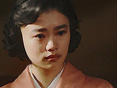 おちょやん ネタバレ15週73話 テルヲのことが気になり涙がこぼれる千代のイラスト