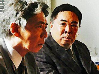 おちょやんネタバレあらすじ21週101話 千代のことを調べたと明かす長澤のイラスト