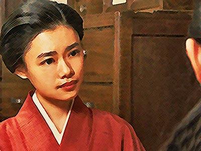 おちょやんネタバレあらすじ22週108話 家出した静子(祥子)の話を聞く千代のイラスト