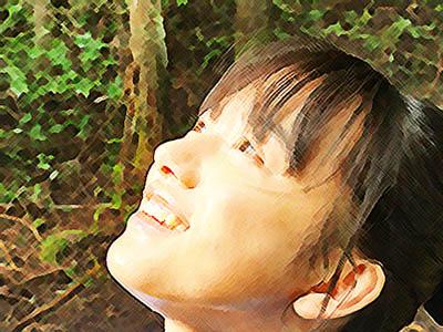 おかえりモネ あらすじネタバレ1週1話 彩雲を見上げる百音のイラスト
