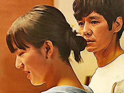 おかえりモネ あらすじネタバレ 1週3話 百音の話を聞く朝岡のイラスト
