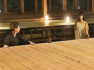 おかえりモネ あらすじネタバレ 1週5話 百音に決断を明かすサヤカのイラスト