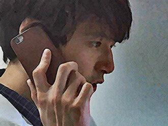 おかえりモネ ネタバレあらすじ 2週9話 百音に電話を掛けた菅波のイラスト