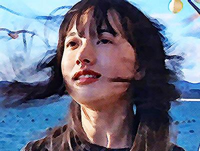 おかえりモネ あらすじネタバレ 5週 亀島を後にする百音のイラスト