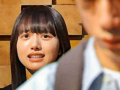 おかえりモネ ネタバレあらすじ 5週21話 中村から目をそらす菅波に苦笑いする百音のイラスト