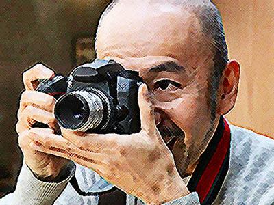 おかえりモネ ネタバレあらすじ 6週26話 百音と菅波を撮影する田中のイラスト