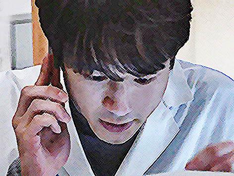 おかえりモネ ネタバレあらすじ 8週38話 百音に電話する菅波のイラスト
