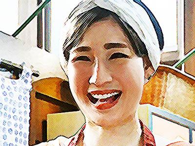 おかえりモネ ネタバレあらすじ 10週46話 シェアハウス・汐見湯の大家・井上菜津のイラスト