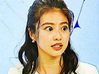 おかえりモネ ネタバレあらすじ 15週71話 気象キャスターデビューの神野マリアンナ莉子のイラスト