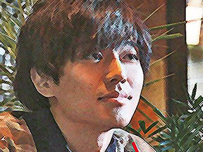 おかえりモネ ネタバレあらすじ 16週76話 迎えに来た百音を見つめる亮(りょちん)のイラスト