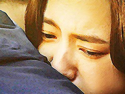 おかえりモネ ネタバレあらすじ 16週80話 菅波の胸の中で涙する百音のイラスト