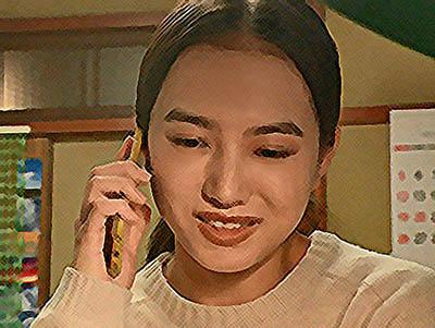 おかえりモネ ネタバレあらすじ 17週83話 菅波と電話をする百音のイラスト