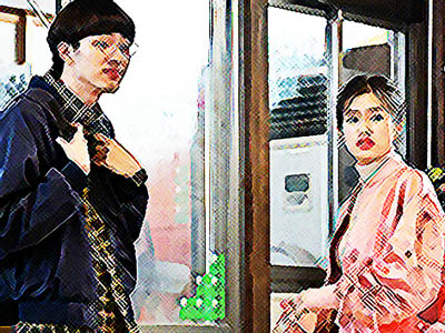 おかえりモネ ネタバレあらすじ 17週83話 スーツを一緒に選ぶと言う内田と明日美のイラスト
