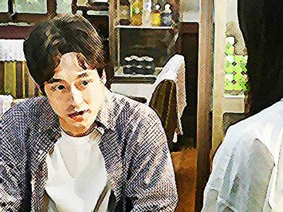 おかえりモネ ネタバレあらすじ 19週91話 東京に戻ると打ち明けると菅波のイラスト