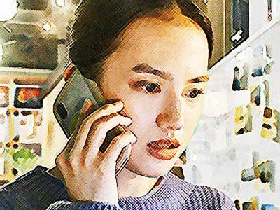 おかえりモネ ネタバレあらすじ 22週109話 野坂と内田と相談する百音のイラスト