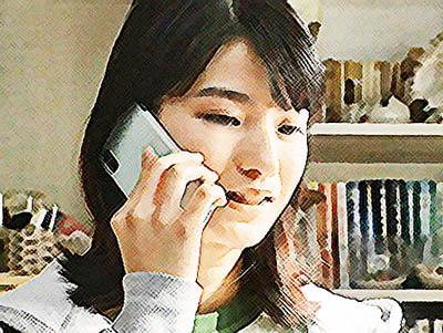 おかえりモネ ネタバレあらすじ 23週115話 百音と電話をする未知のイラスト